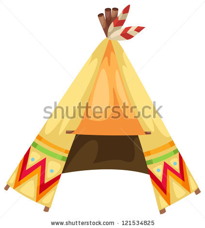 Indian Tent Stock Images, Royalty.