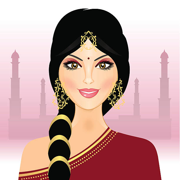 Traditional indian lady clipart 1 » Clipart Station.