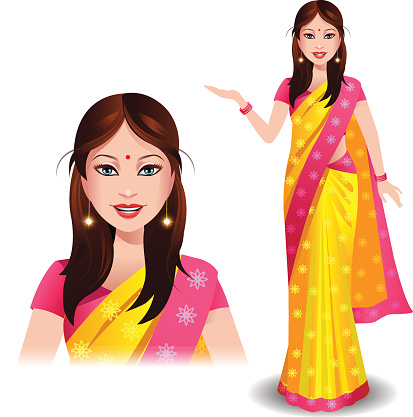 Free Indian Saree Cliparts, Download Free Clip Art, Free Clip Art on.