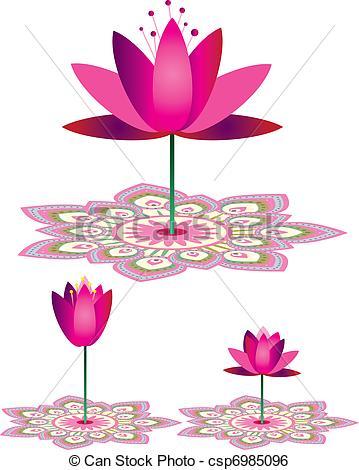 Mandala lotus abstract Clip Art Vector and Illustration. 1,370.