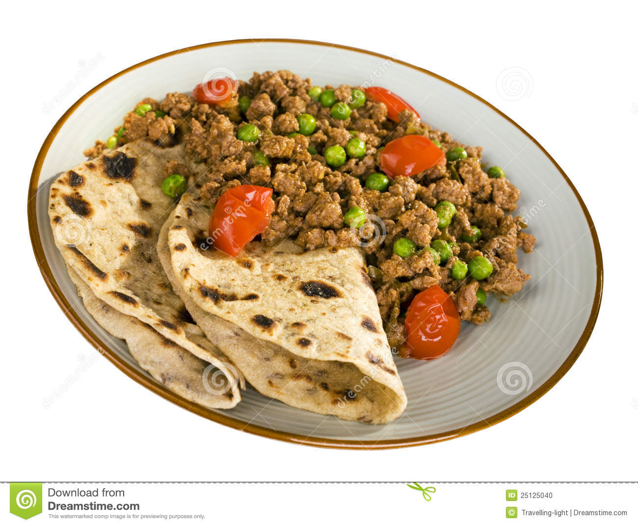 Keema Curry , Indian Food Royalty Free Stock Images.
