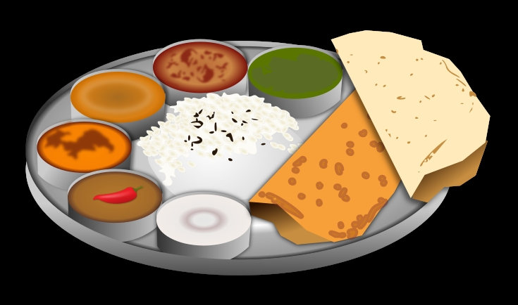 Indian Food Clip Art.