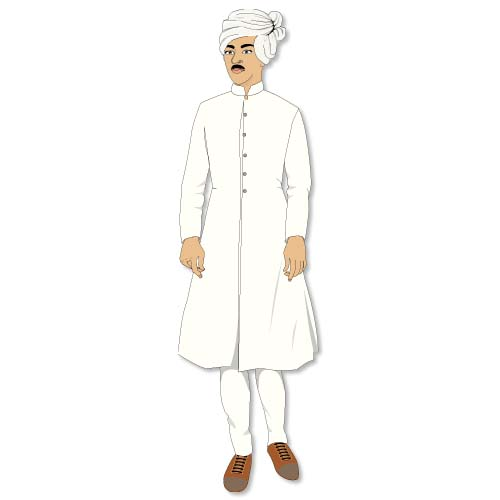 Clipart indian man.