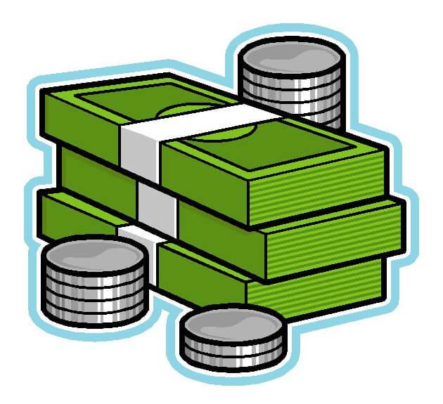 Indian Money Clipart.