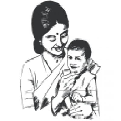 Indian mother and baby clipart 1 » Clipart Station.