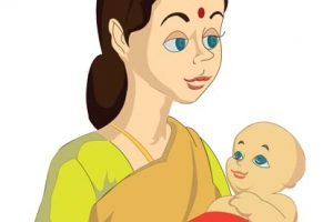 Indian mother and baby clipart 5 » Clipart Station.