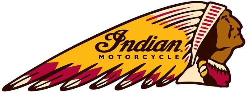 Old school indian moto logo.