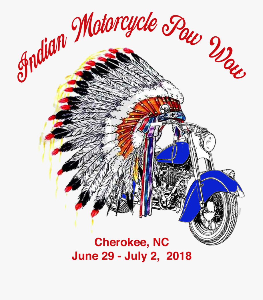 Tribal Thunder Indian Motorcycle.