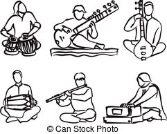 Indian music Vector Clip Art Illustrations. 876 Indian music.
