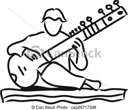 Indian music Vector Clip Art Illustrations. 832 Indian music.