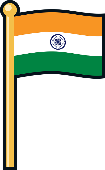 Indian Flag Indian India Flag National Country.