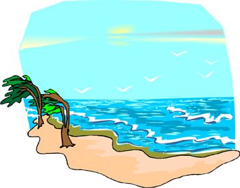 Indian ocean clipart.
