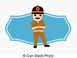 Indian police Vector Clip Art Illustrations. 36 Indian police.
