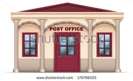 Postmaster Stock Images, Royalty.