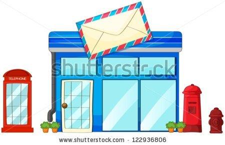 Post Office Vecteurs de stock et clip.