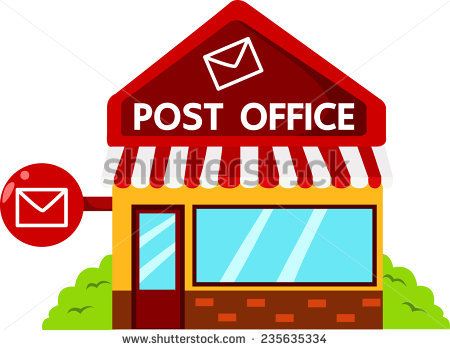 Post Office Stock Images, Royalty.