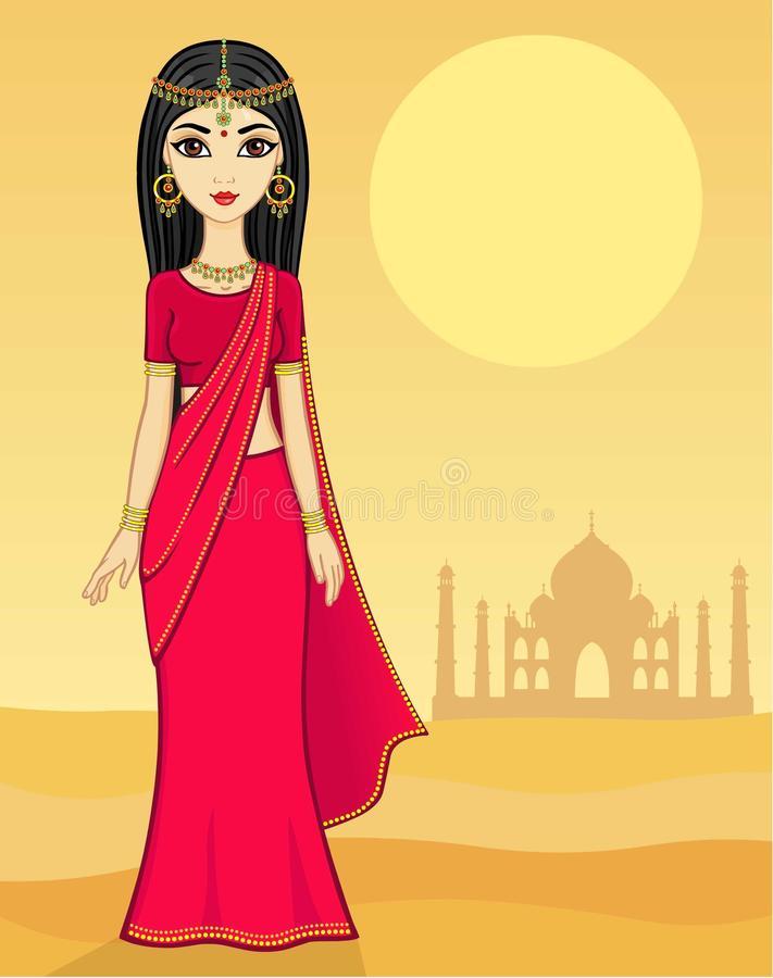 Indian Princess Stock Illustrations.