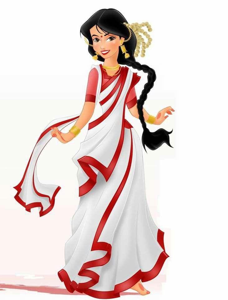 Benghali Disney Indian princess.