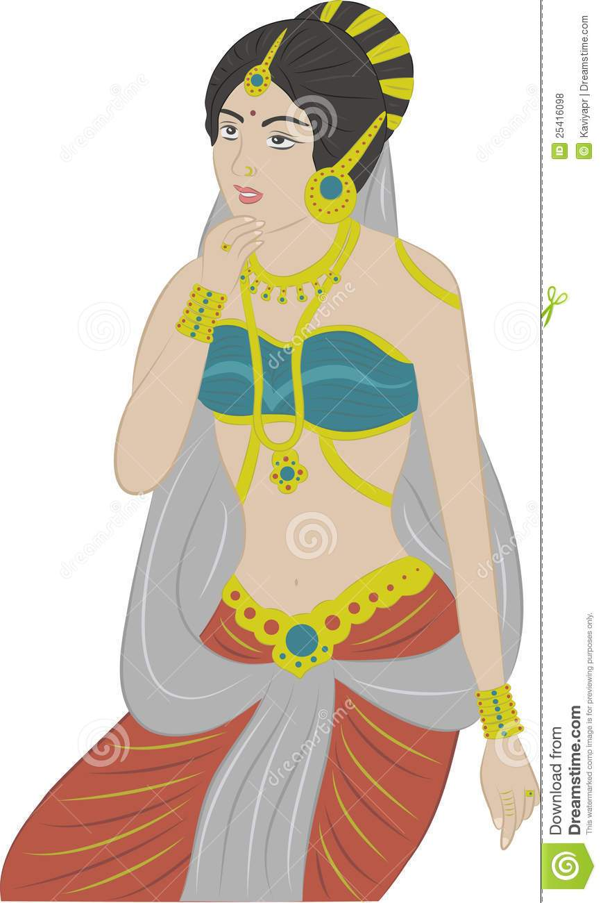 Indian princess clipart 3 » Clipart Portal.