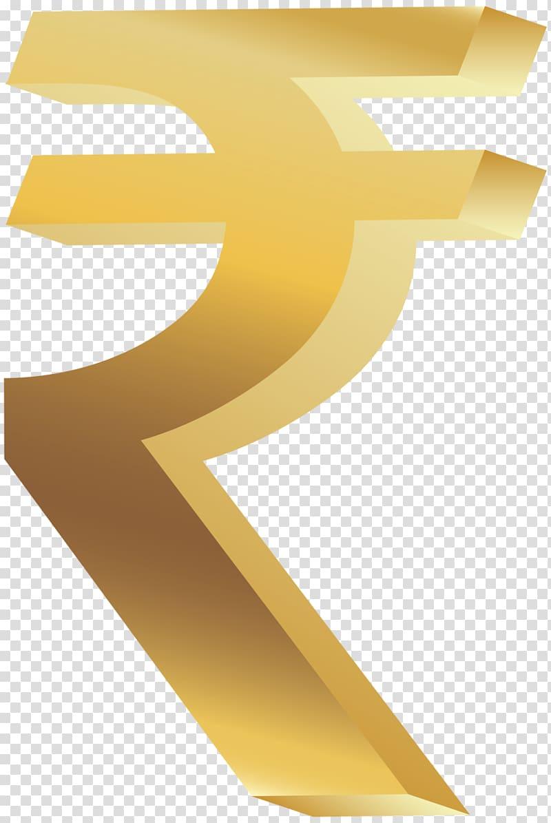 Symbol Indian rupee sign , rupee transparent background PNG.