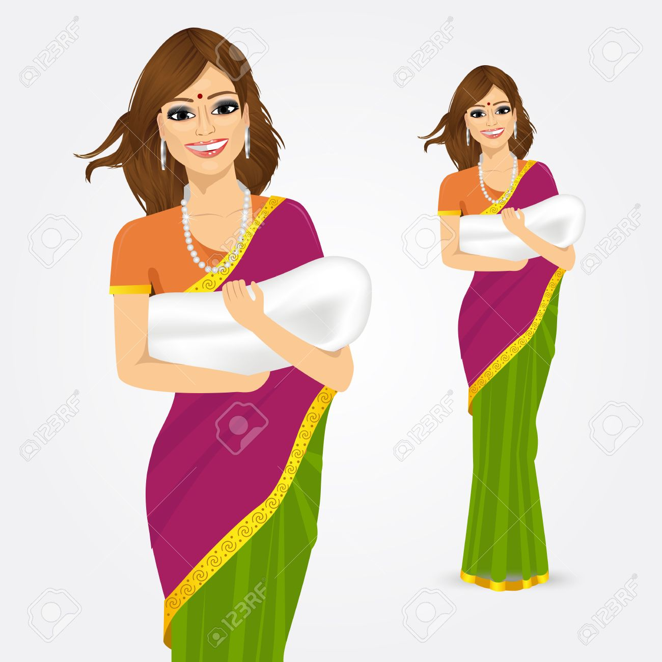 Indian Saree Cliparts Free Download Clip Art.