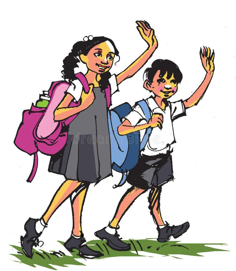 Indian School Clipart.