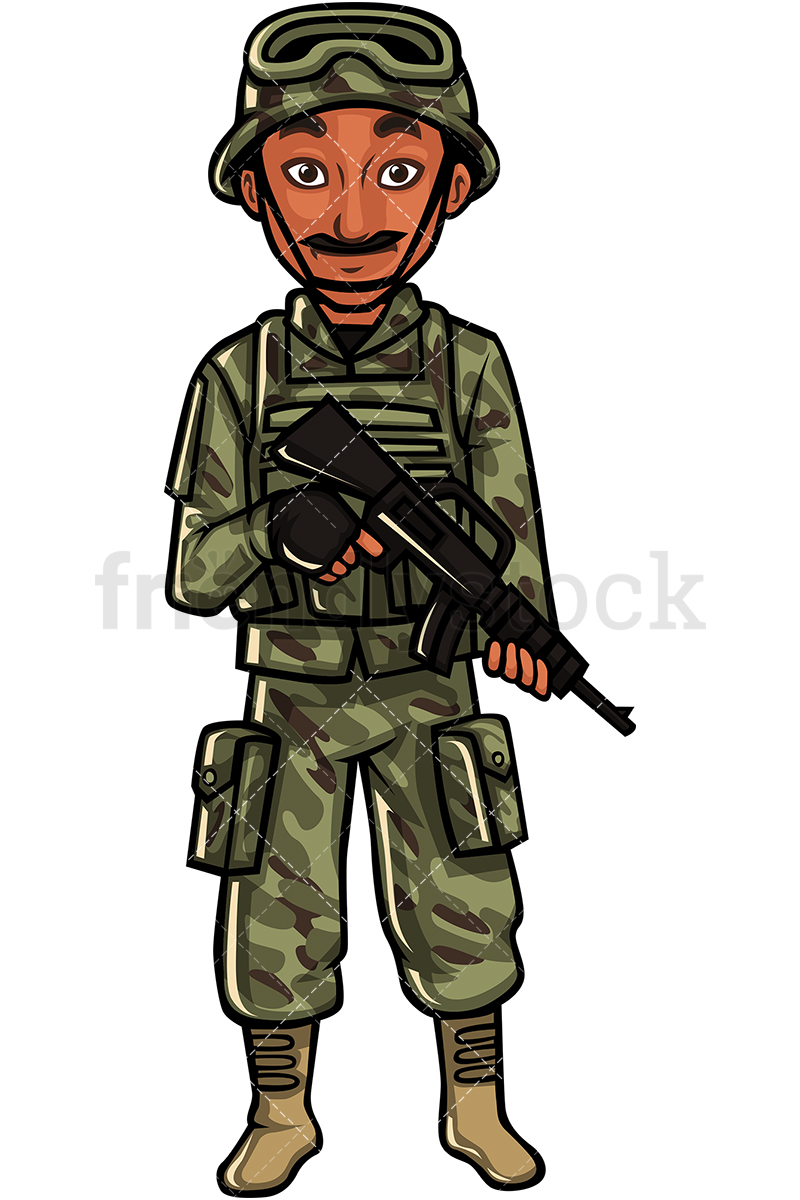 Indian Soldier.