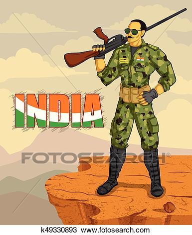 Indian army clipart 4 » Clipart Portal.