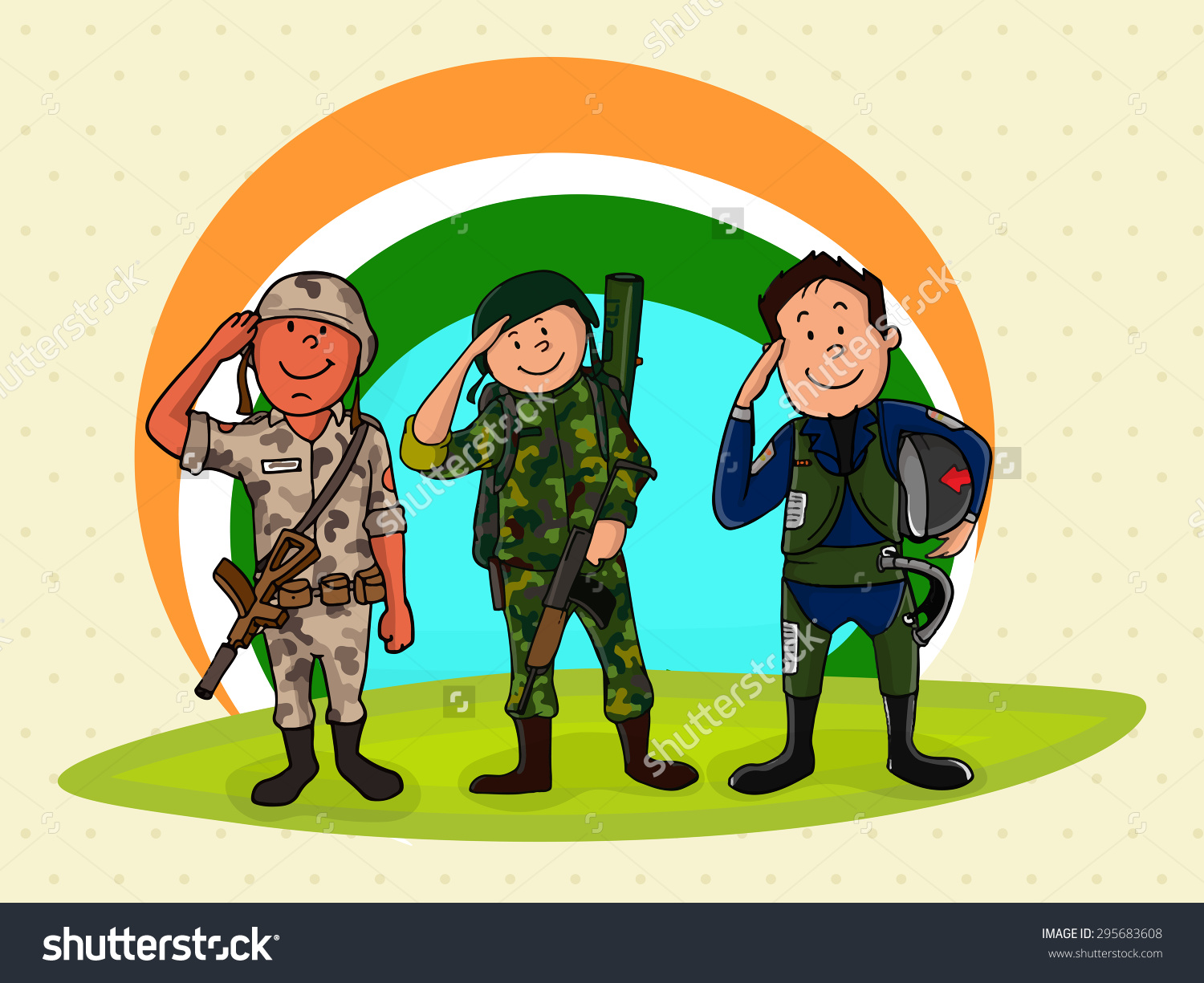 Showing post & media for India soldier cartoon.