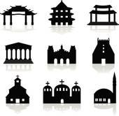 Hindu temple Clip Art EPS Images. 717 hindu temple clipart vector.