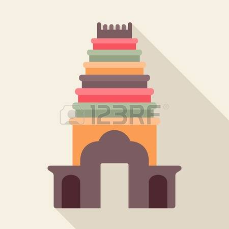 1,829 Hindu Temple Stock Vector Illustration And Royalty Free.