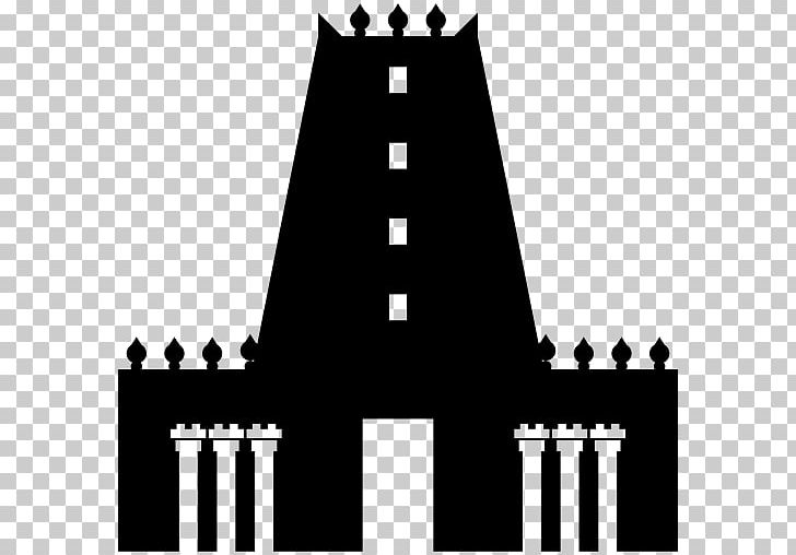 Hindu Temple Hinduism PNG, Clipart, Black, Black And White.