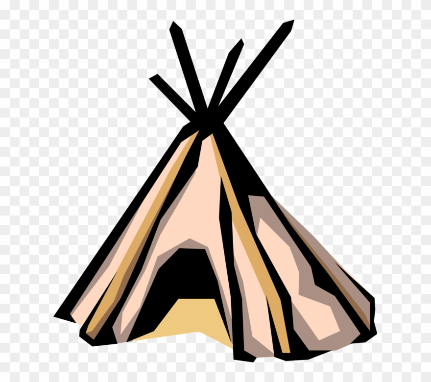Indian Teepee Tent Image Illustration Of North.