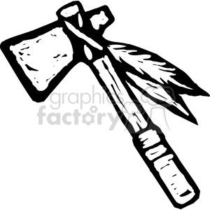 tomahawk cartoon clipart. Royalty.