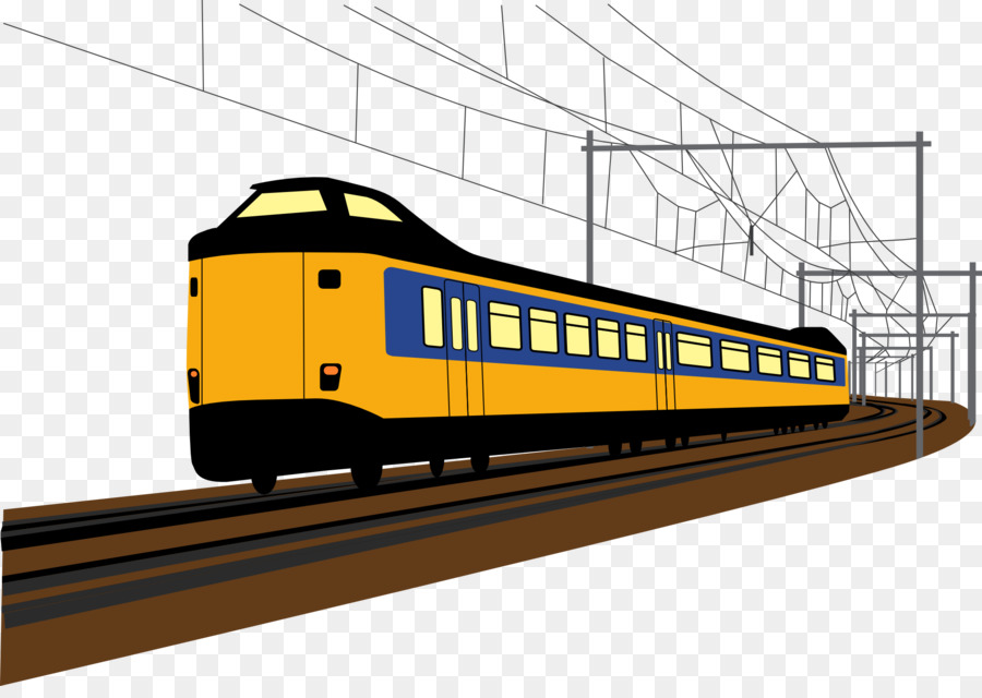 Indian Train clipart.