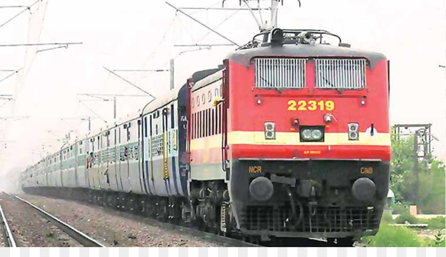 Indian Train png download.
