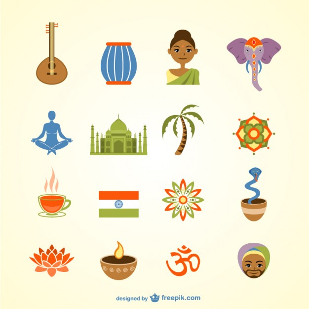 India Pack Free Vector.