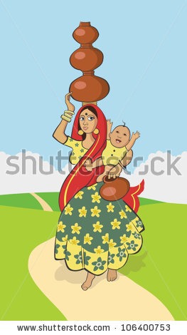 India Village Stock Vectors, Images & Vector Art.