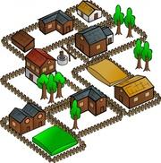 Indian village clipart #11
