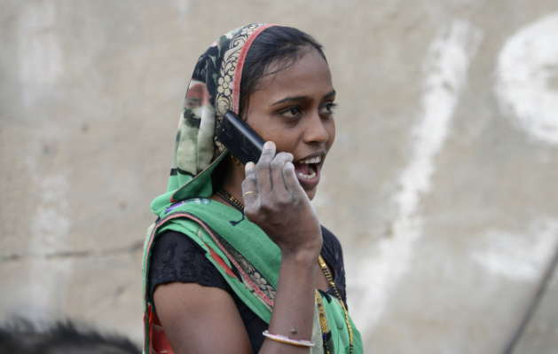 Indian village bans girls unmarried women cell phones.