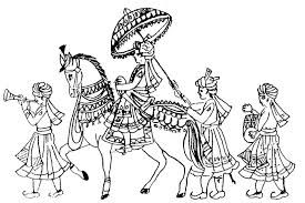 Image result for baraat procession.