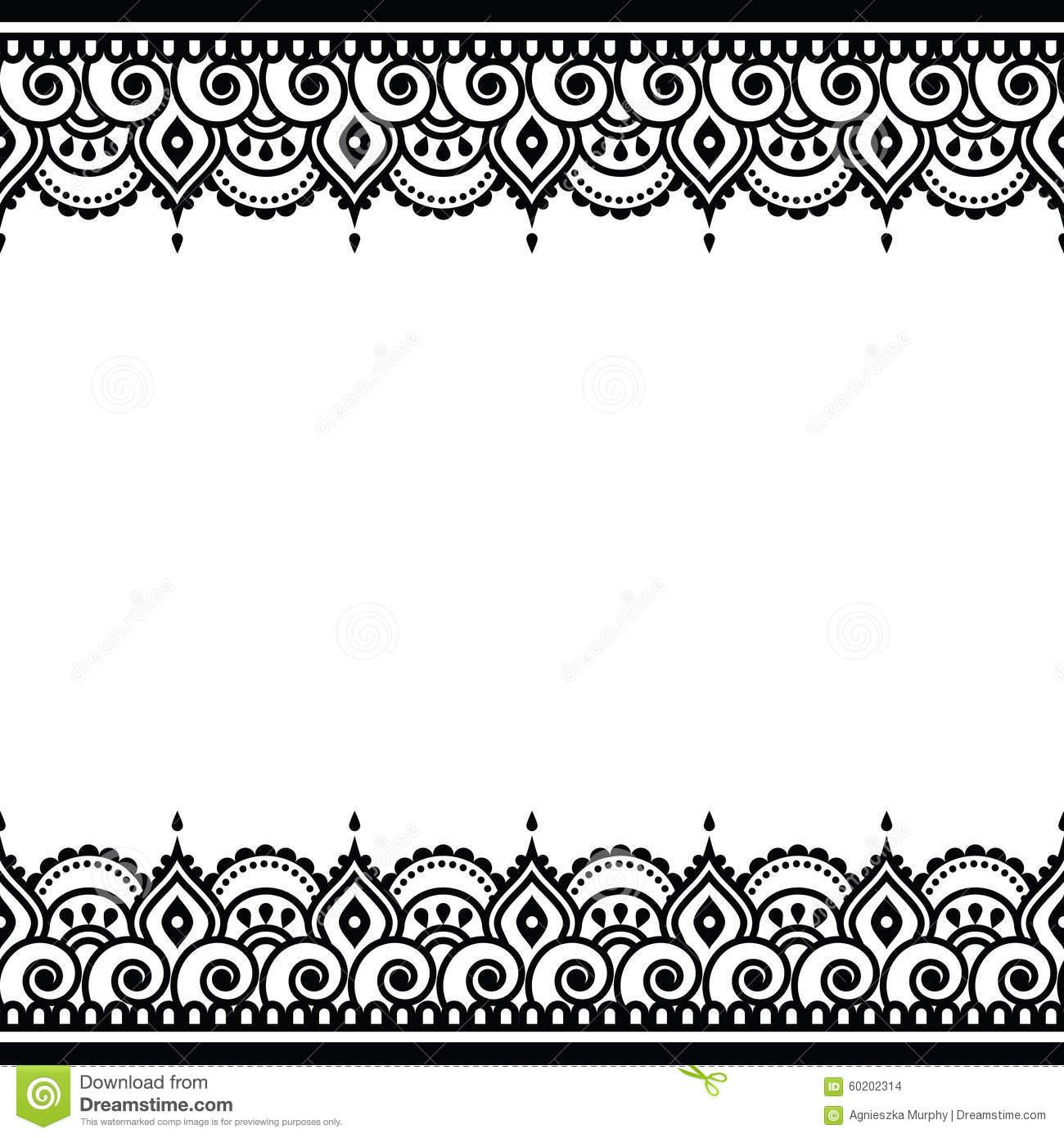 Indian Wedding Border Clipart.