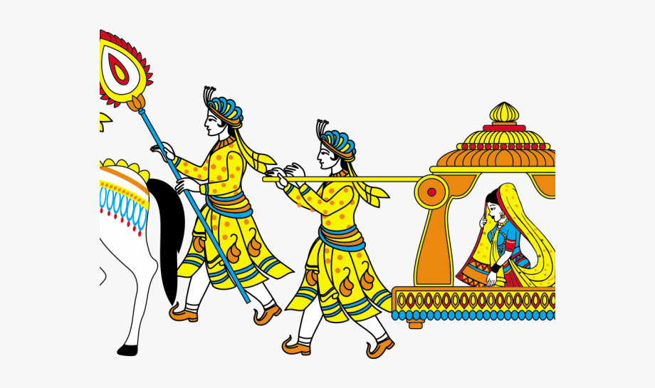 Indian Wedding Clipart.