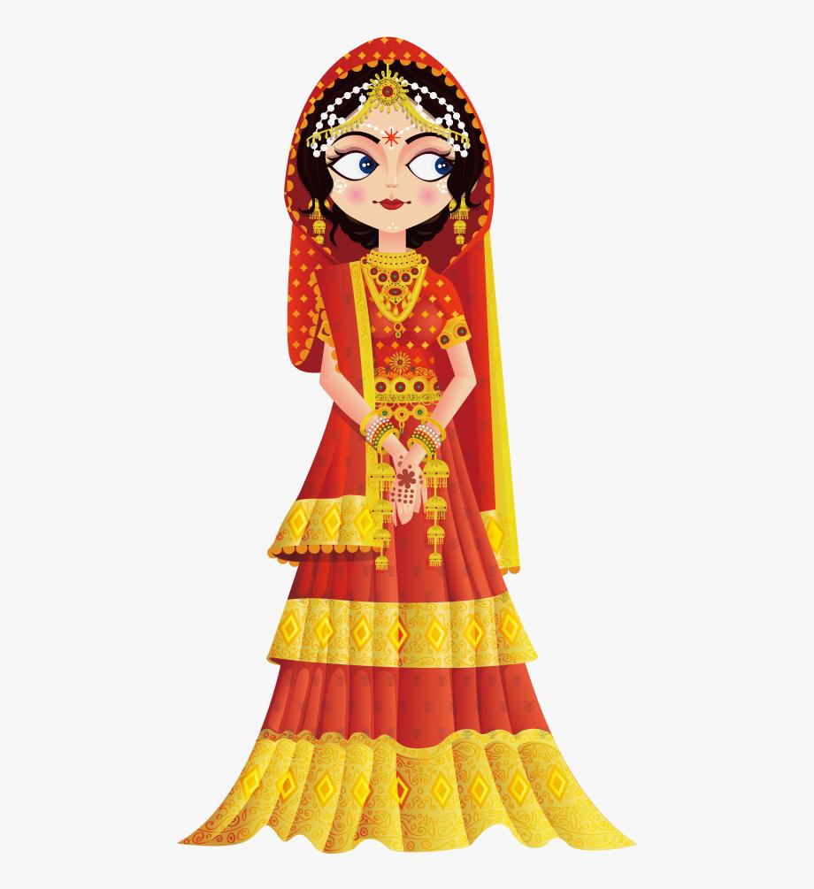 Weddings In India Wedding Invitation Bride Clip Art.