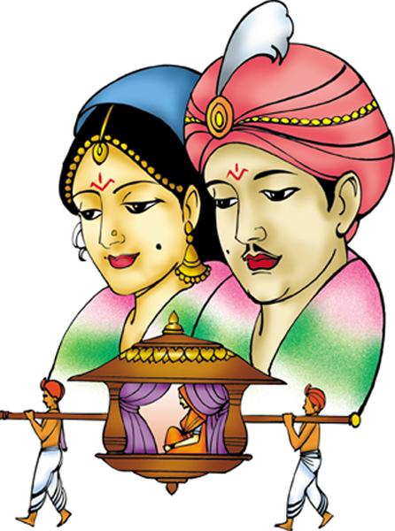 Wedding color clipart indian png » Clipart Station.