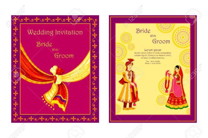 South Indian Marriage Invitation Cards
