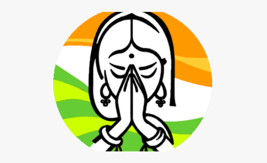 India Clipart Indian Welcome.