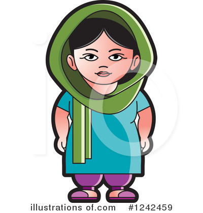 Indian Woman Clipart #1242459.