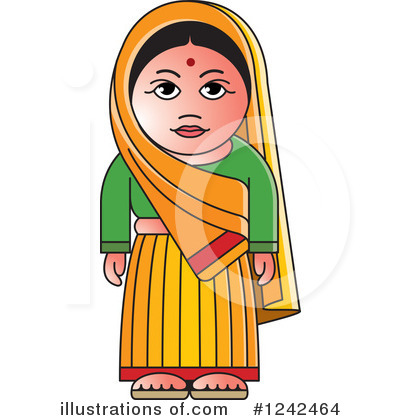Indian Woman Clipart #1242464.