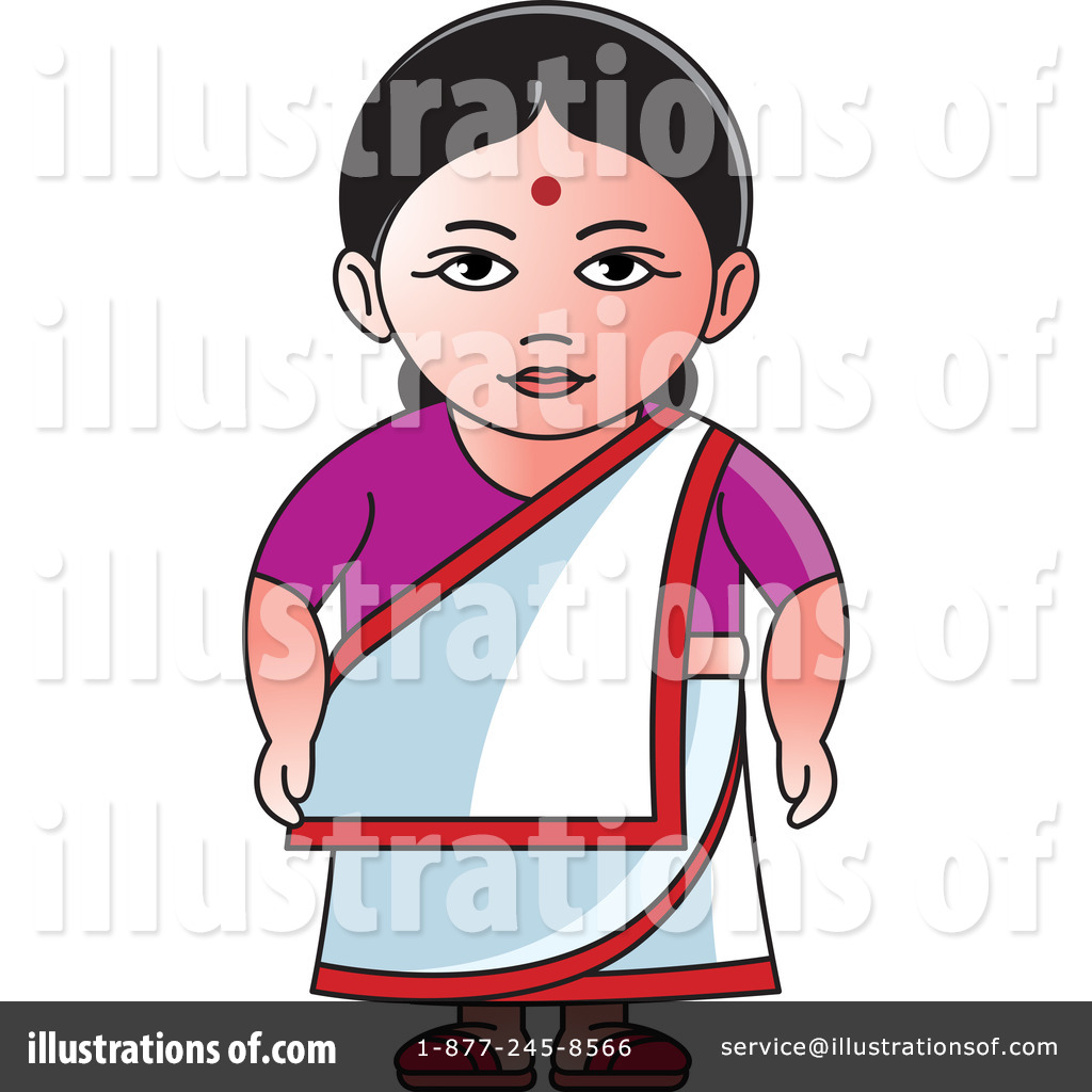 Indian Woman Clipart #1242458.